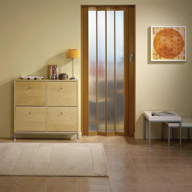 дверь гармошка для ванной