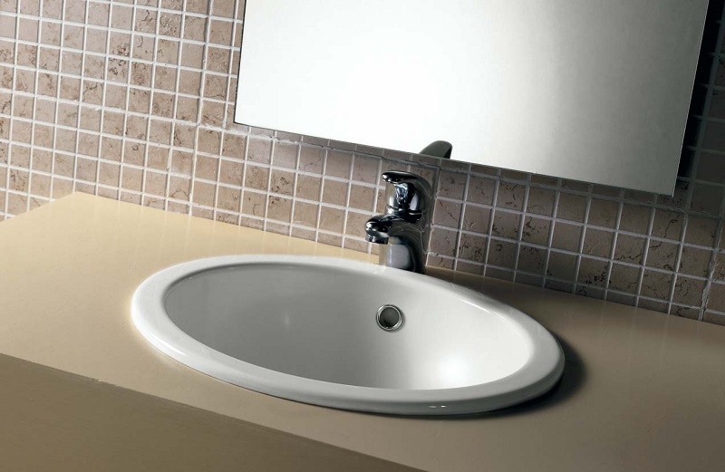 врезная раковина для ванной