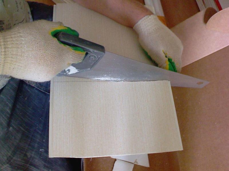 как резать пластиковые панели