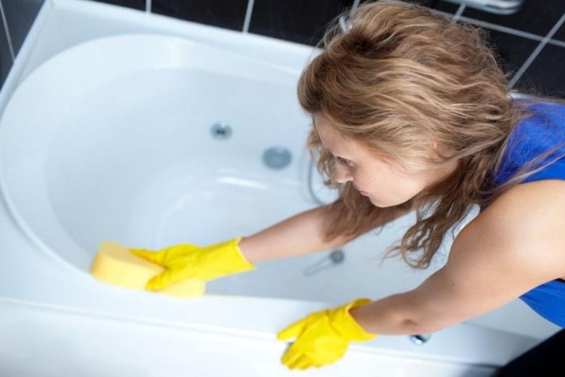 чистка ванны
