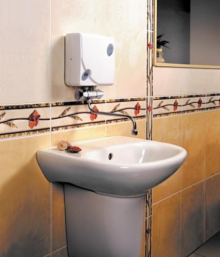 электрический проточный водонагреватель фото