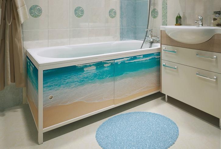 Экран под ванну