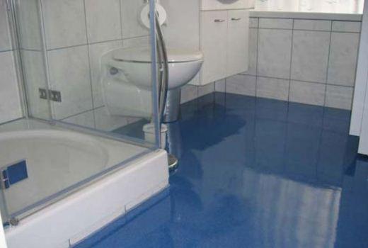 наливной пол в ванной
