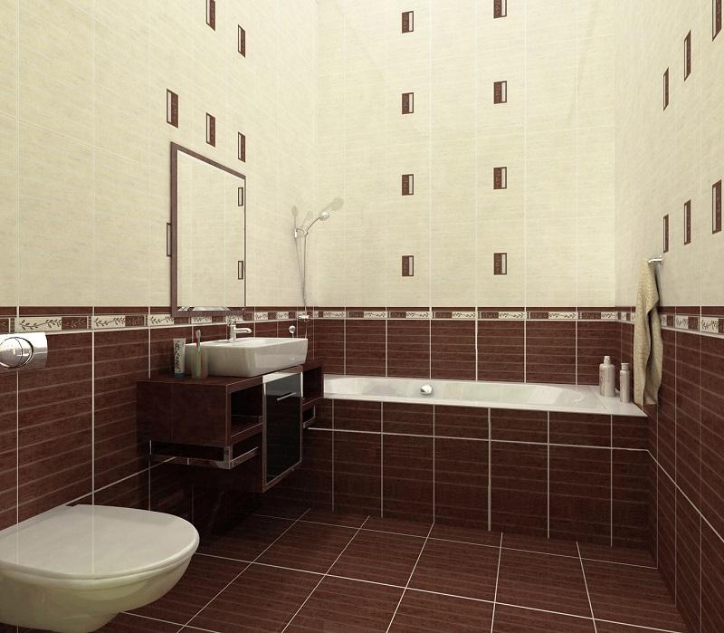 рассчет плитки в ванной комнате