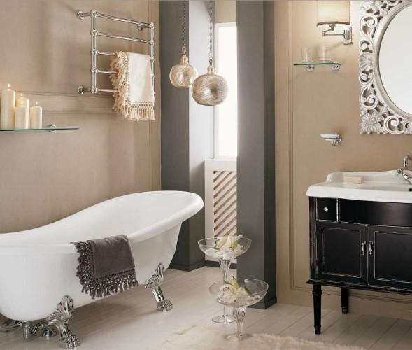 мебель для ванной в винтажная