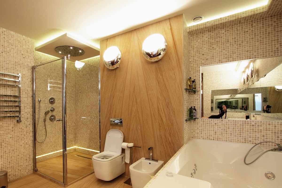 светидиодные лампы в ванной
