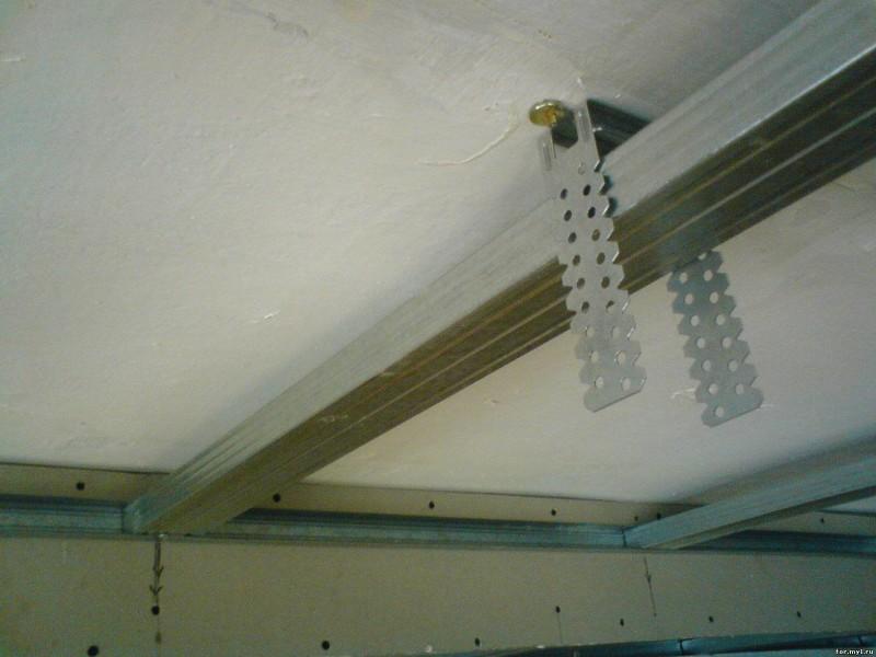 подвес для реечного потолка