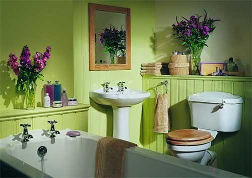 Водостойкая краска в ванной