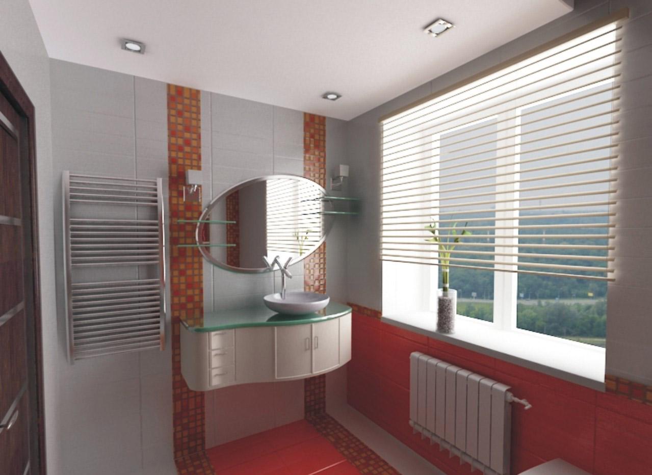 панели пвх в дизайне ванной комнаты