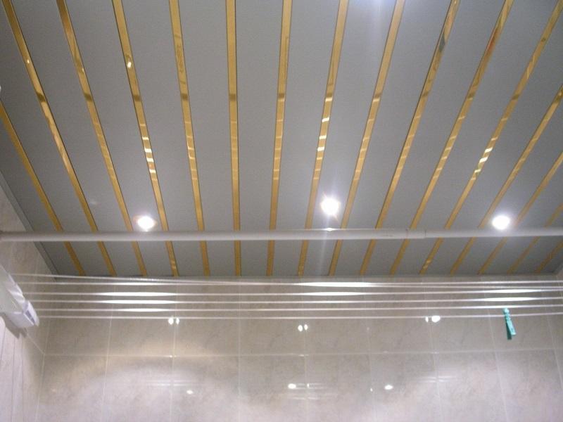 сайдинг потолка