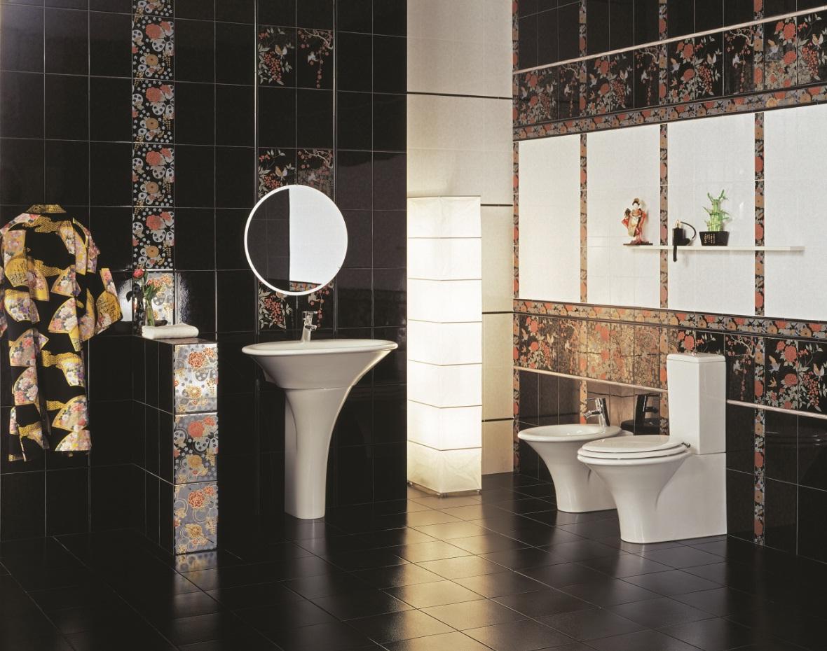 плитка керамическая для ванной комнаты