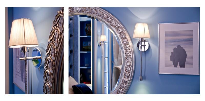 подсветка круглого зеркала