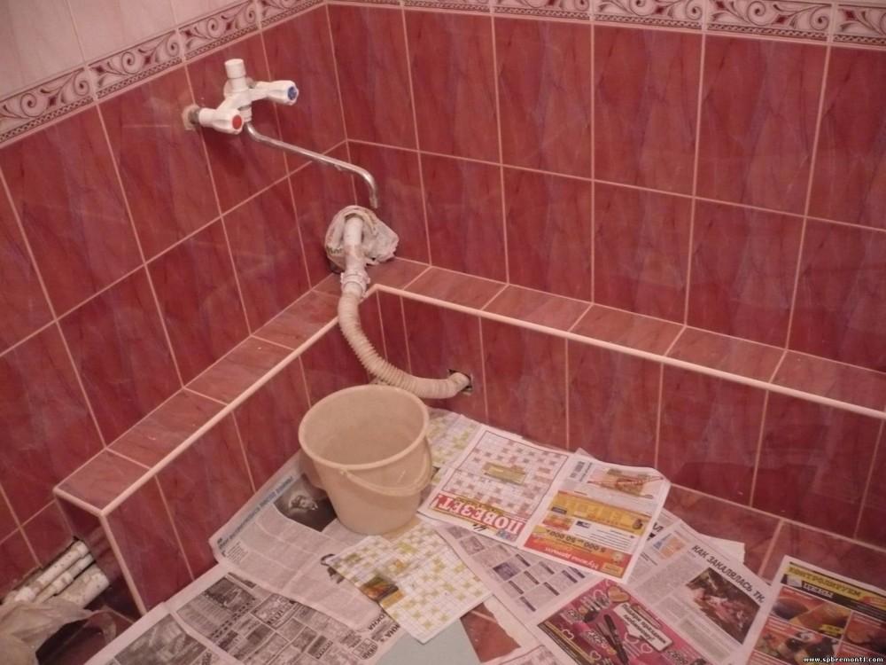 облицовка короба в ванной