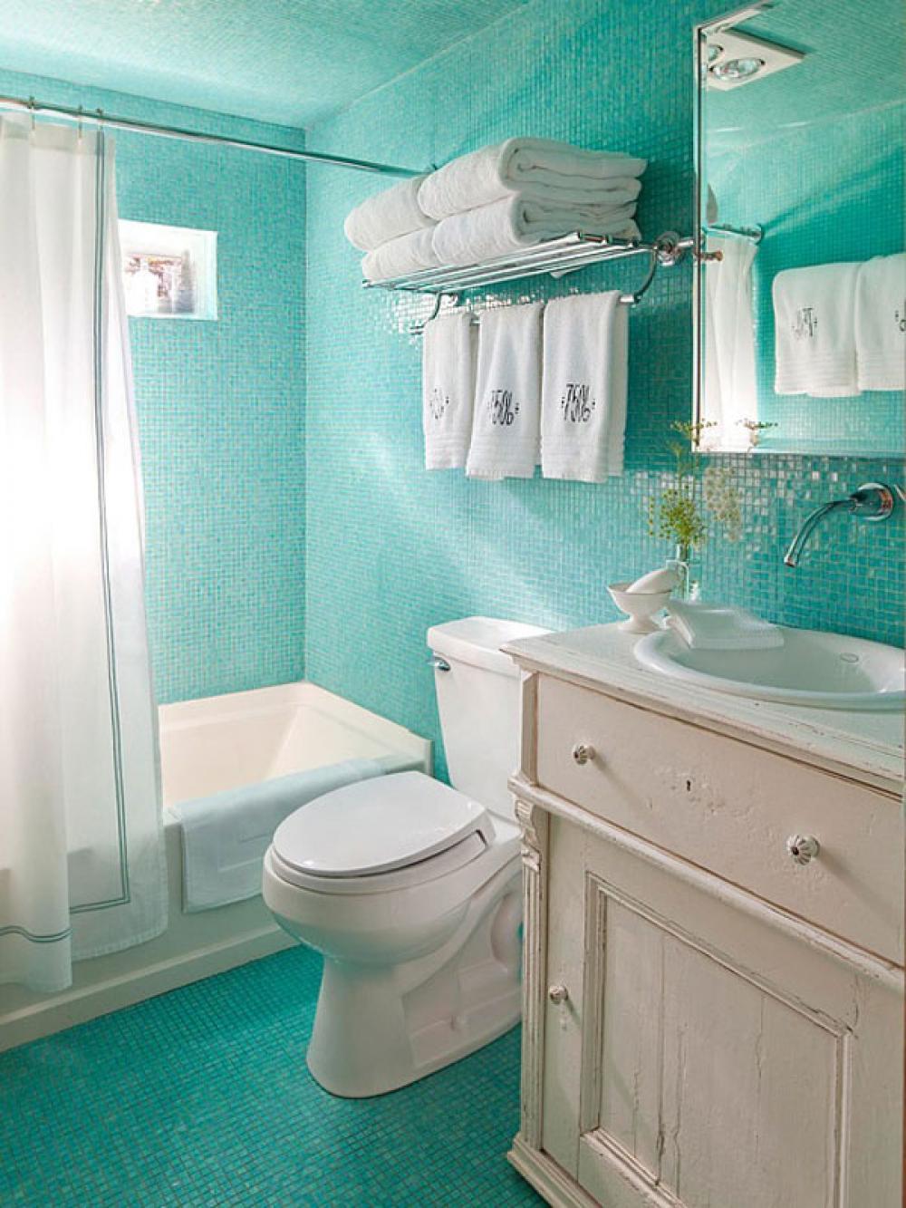 совмещенная ванная и туалет