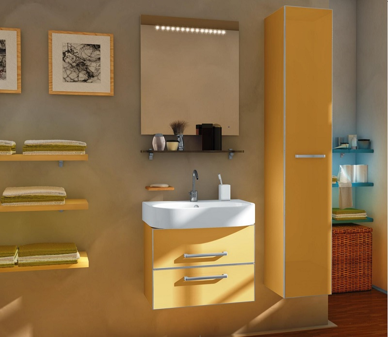 дизайн ванной комнаты из пластика