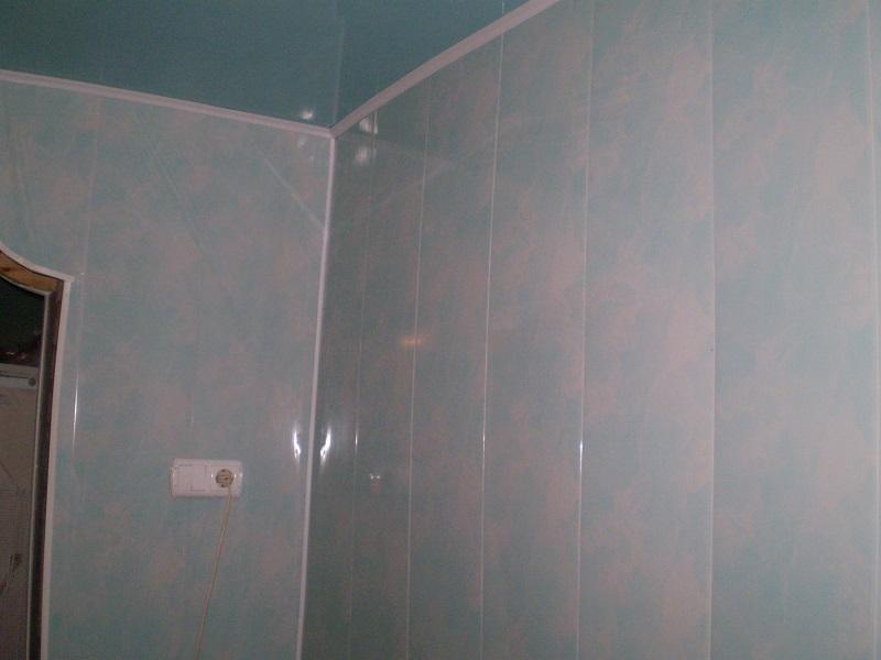 панели пвх в отделке ванной