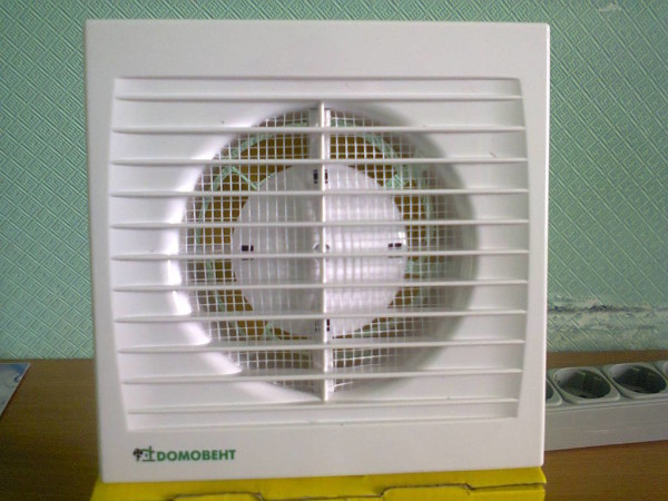 вентилятор белый