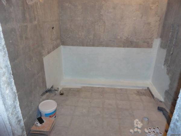 гидроизоляция ванна
