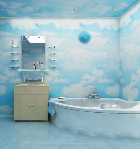 Ванная комната из пластика