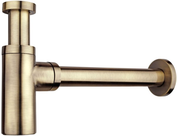 бронзовый сифон под раковину