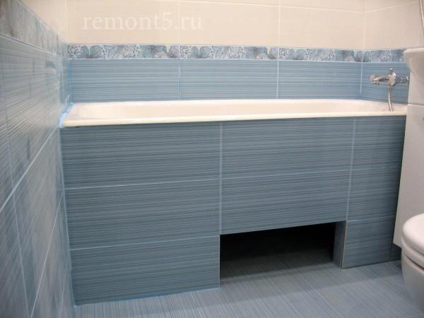 экран под ванну кафель