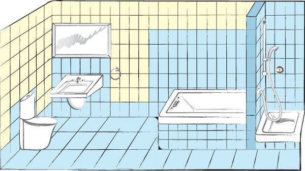 планировка гидроизоляция
