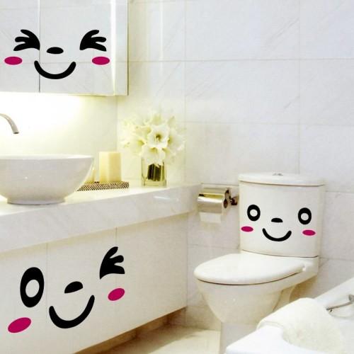 веселый наклейки для ванной комнаты