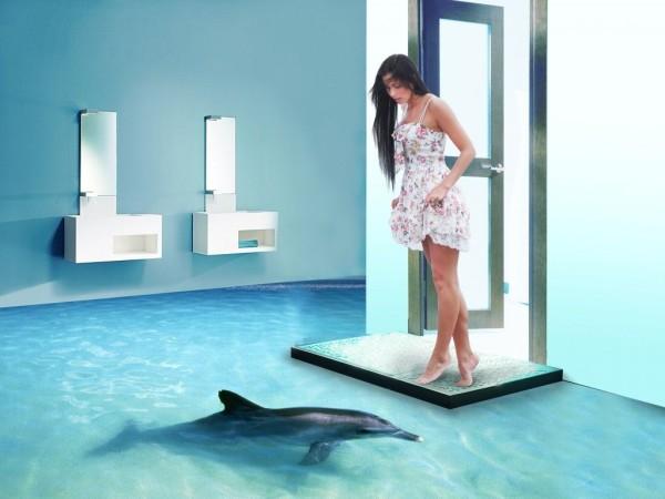 наливной пол ванная комната