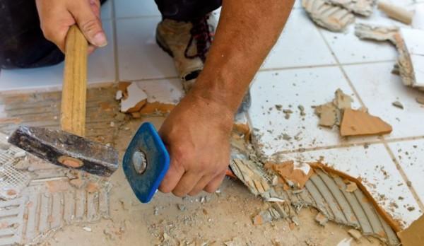 подготовка пола для плитки