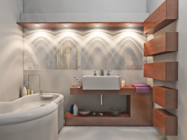 расчет освещенности ванна