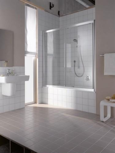 шторы стекло ванна