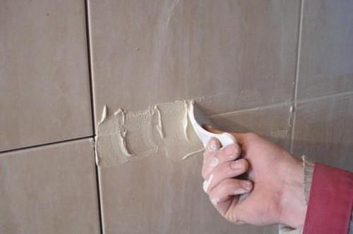 замазка цементом