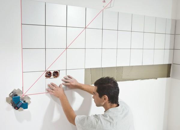 укладка плитки выравнивание стен