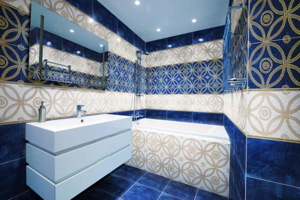плитка укладка в ванную комнату