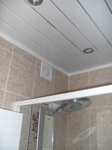 высота потолка вентилятор