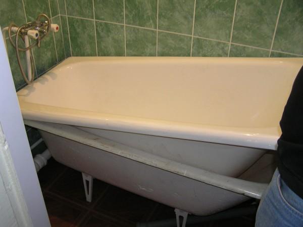 вкладыш в ванную