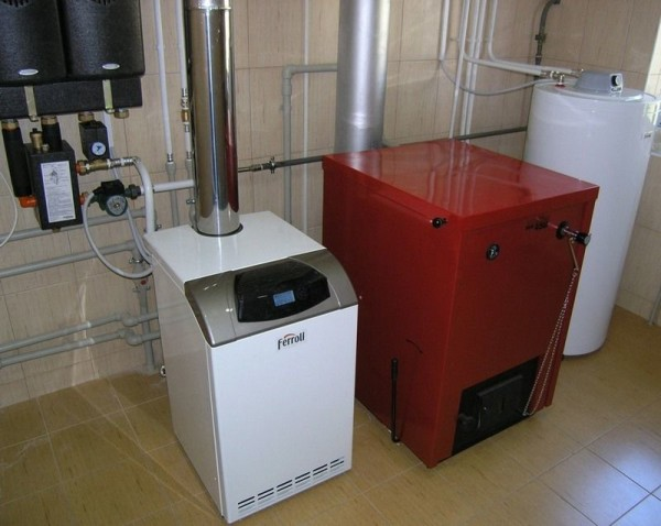 газовый водонагреватель