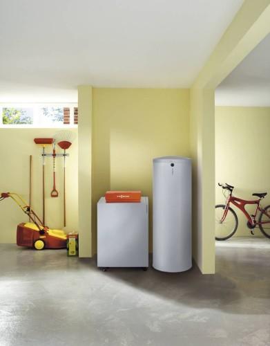 напольный водонагреватель в квартире