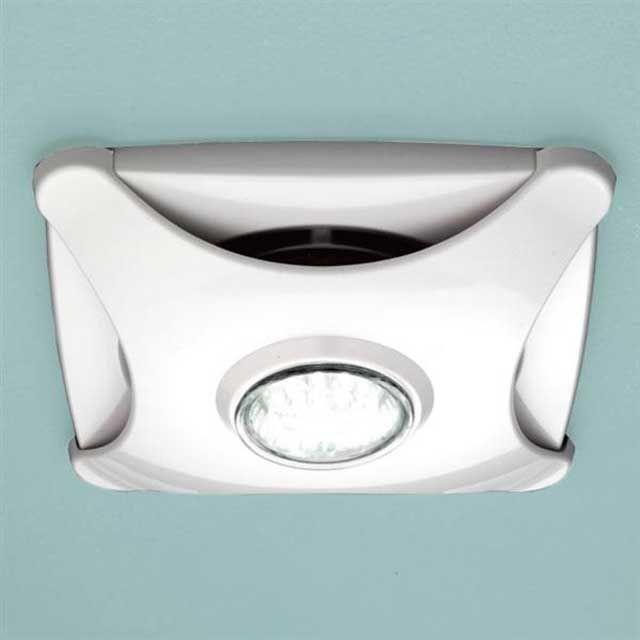 вытяжка для ванной с лампой