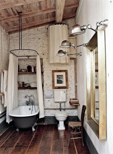 ванна ретро-стиль