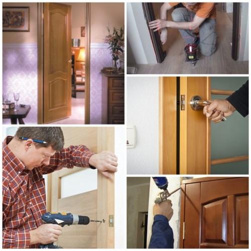 процесс двери