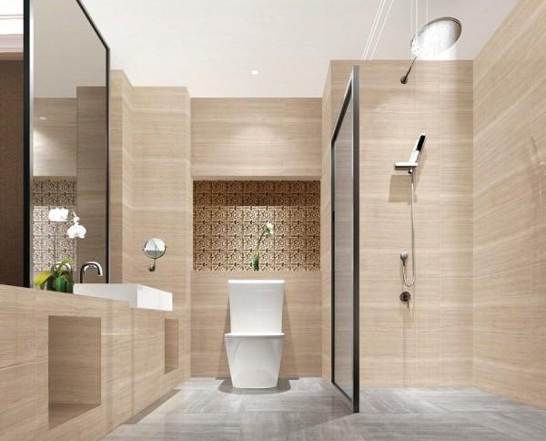 матовая плитка ванная