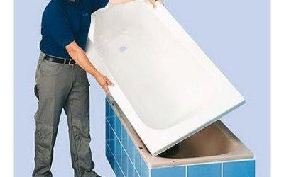 Акриловый вкладыш: совершенно новая ванна за два часа