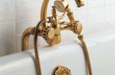 Выбираем бронзовый смеситель в ванную комнату