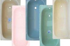 Что такое цветная чугунная ванна