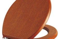 Сиденье для унитаза из дерева: плюсы и минусы