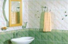 Выбор дешевой керамической плитки в ванную