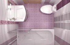 Проектируем дизайн ванной комнаты до 5 м2