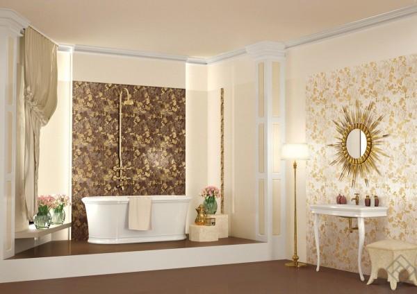 ванна несколько стилей