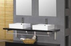 Зачем нужна двойная раковина в ванной?